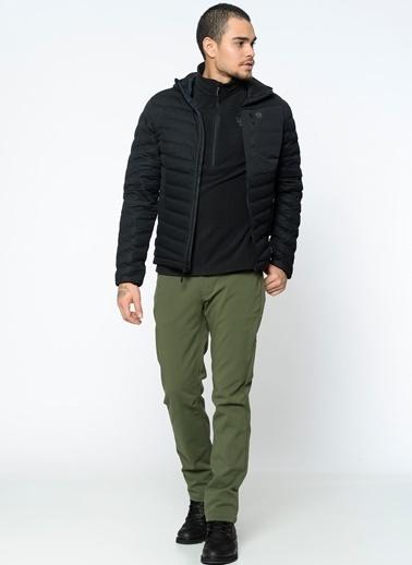Mountain Hardwear Outdoor Kapüşonlu Şişme Mont Siyah